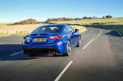 Lexus RC F Car Rear Photos