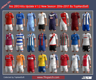 Pes 2013 Kits Update V 1.2 New Season 2016-2017 By TopHardSoft