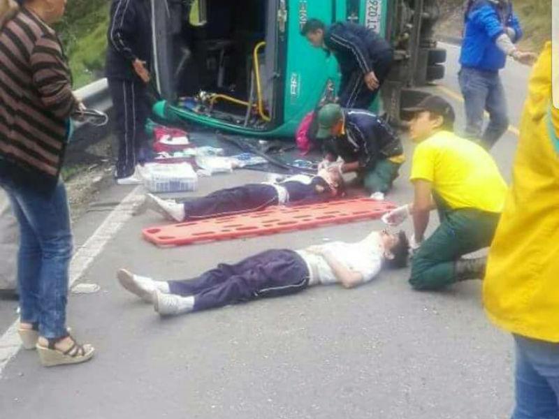 Ruta de bus escolar accidentada en Soacha no infringió normas de tránsito