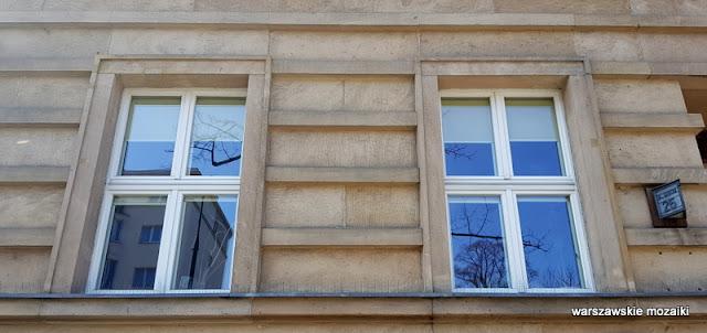 Warszawa Warsaw aleja Szucha 25 Ministerstwo Edukacji Narodowej MEN Zdzisław Mączeński Wojciech Jastrzębowski architektura przedwojenna wnętrza art deco klasycyzm okna