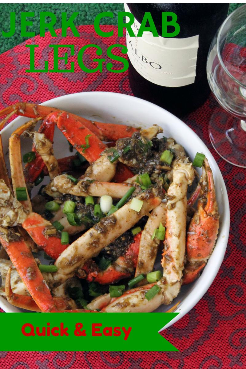 Jerk Crab Legs