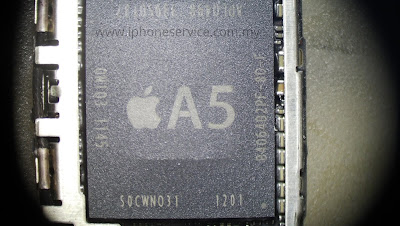 A5 SD RAM cracked