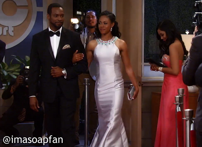 Andre Maddox, Anthony Montgomery, Jordan Ashford, Vinessa Antoine, GH,General Hospital, Nurses Ball