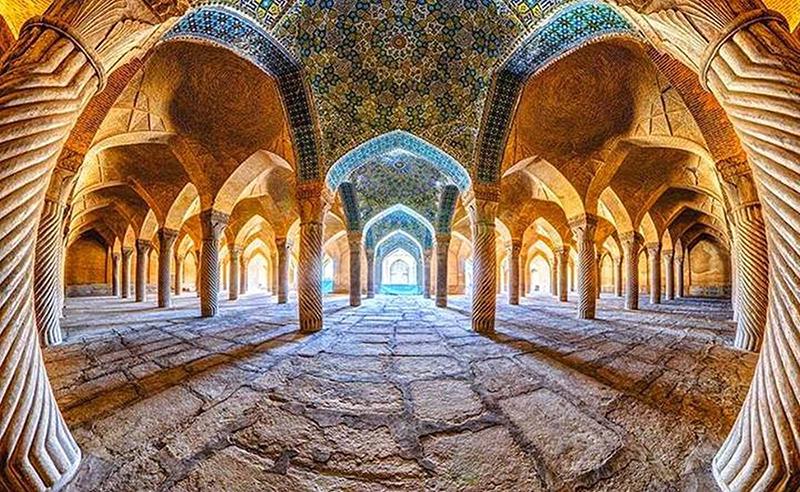 Мечеть Вакиль в Ширазе, Иран. Фото в блоге itdalee.ru