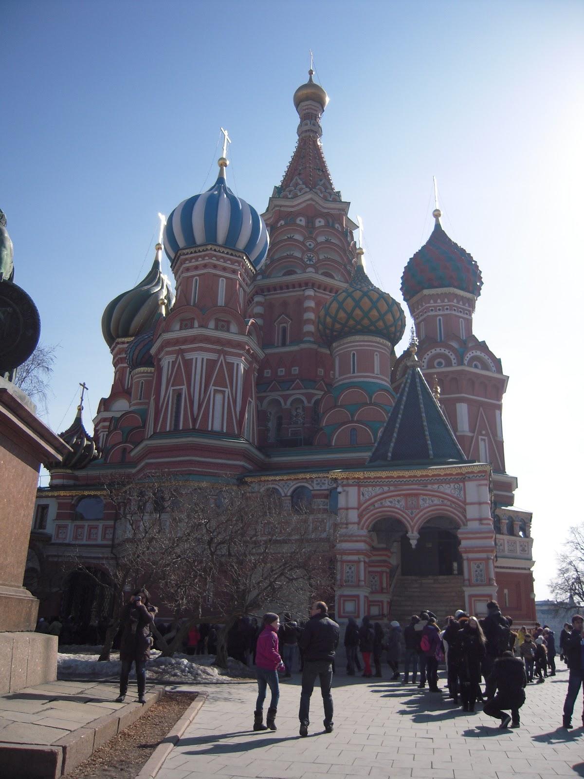 My Blog: 俄羅斯 DAY2 (莫斯科--克里姆林宮,紅場,列寧山,軍事博物館)