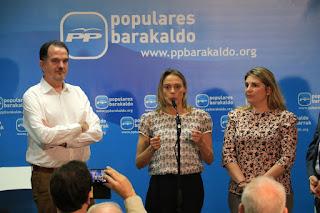 Acto del PP en Barakaldo
