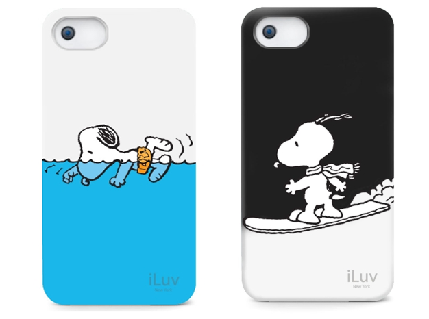 newest collection 7db1a 7b4ea iLuv Glow in the Dark Cases for iPhone 5 : Available in Snoopy ...