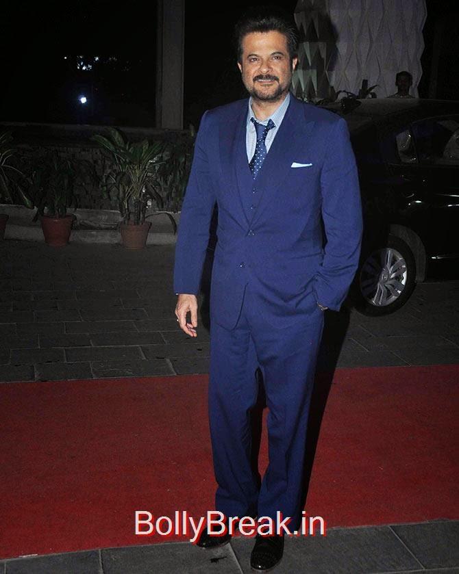 Anil Kapoor, Tulsi Kumar Wedding Reception Photo Gallery 2015