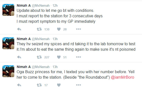 Nigerian girl ends up in Police net after giving oyibo neigbour a plate of pepper soup