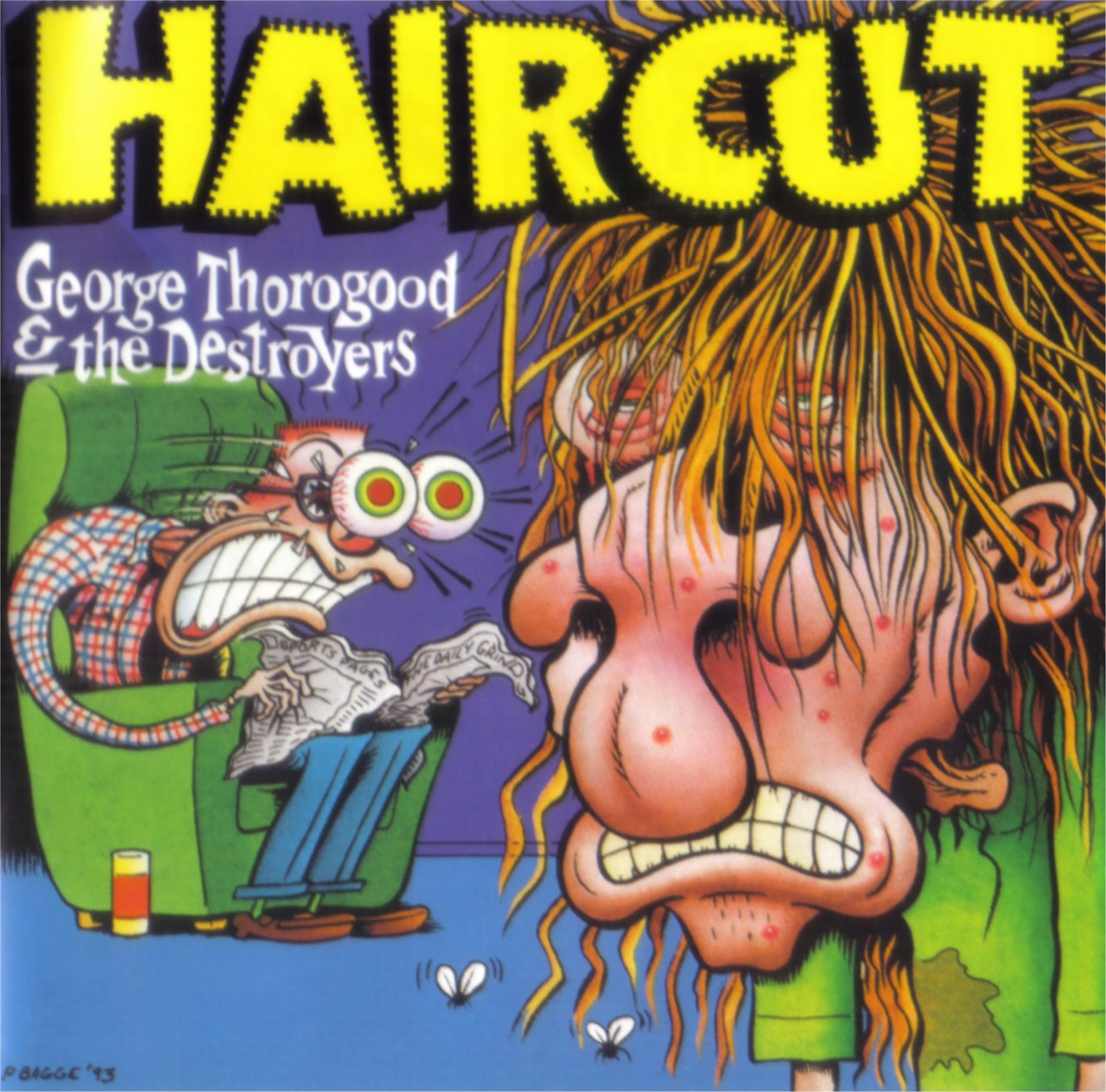 Rock On Vinyl George Thorogood The Destroyers Haircut 1993