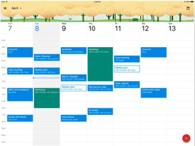 New- Google Calendar Is Now Available for iPad Users