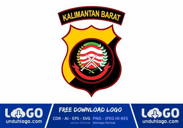 Logo Polda Kalimantan Barat