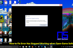 How to Fix the Has Stopped Working Problem on Laptop Computer Game or Software