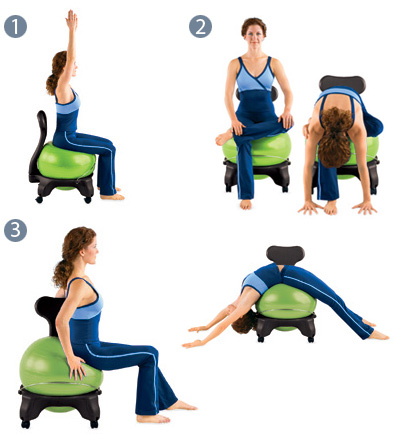 Balance Ball Chair for the Office