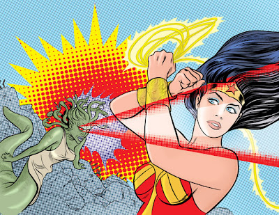 M∙A∙C Cosmetics x DC Comics Wonder Woman Collection Artwork by Mike Allred