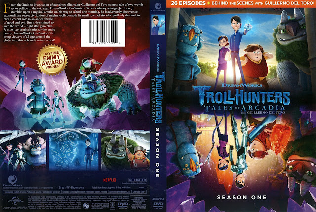 Troll Hunters: Tales of Arcadia Season 1 DVD Cover