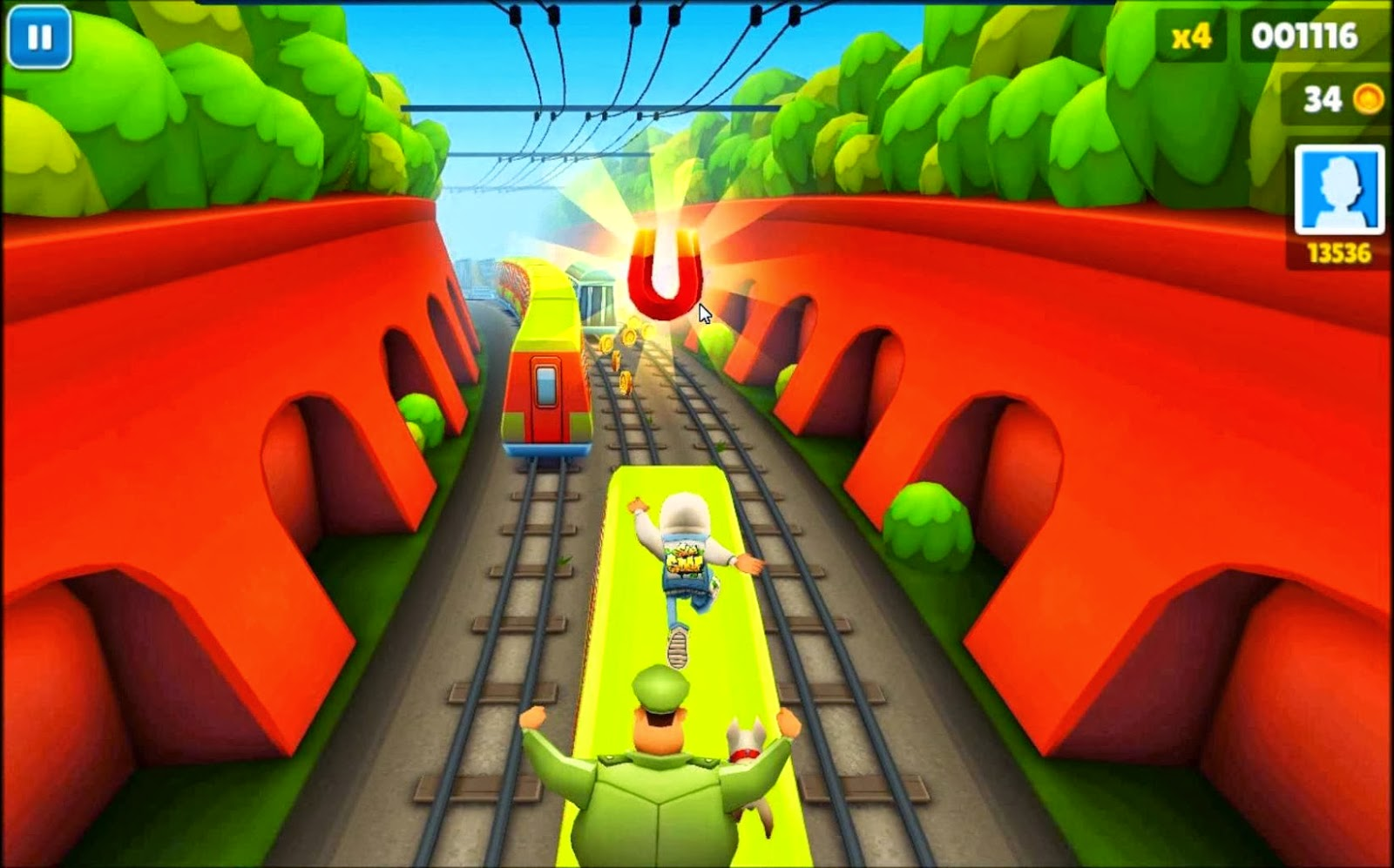 Online Games Subway Surfers