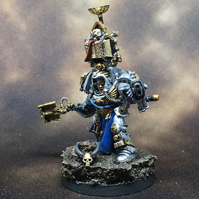 Grey Knights Librarian Left Side