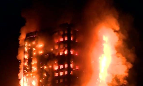 London Fire Update: 30 patients taken to five hospitals following the fire at Grenfell Tower