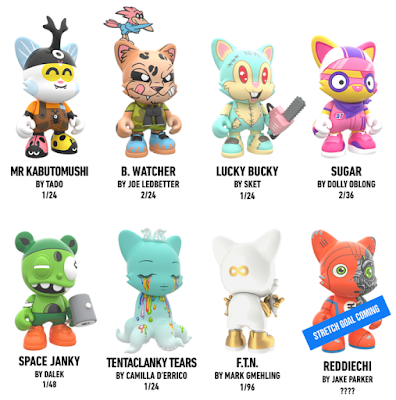 JANKY Artist Series 1 Vinyl Figures by SUPERPLASTIC (Paul Budnitz x Huck Gee)