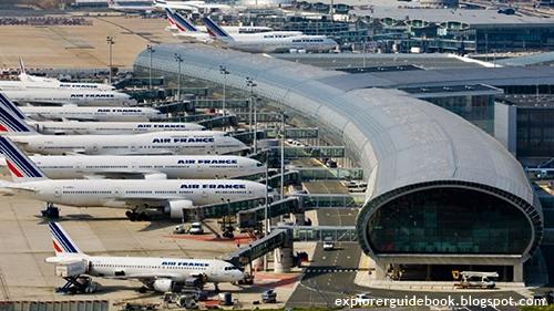 Bandara Internasional Paling Terkenal di Paris Prancis Charless De Gaulle Airport