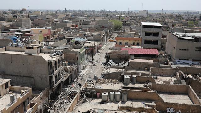 El Estado Islámico usa gas tóxico contra civiles en Mosul