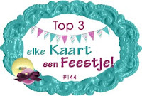 Ik sta in de top 3 !!!