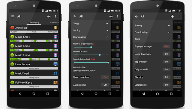 Download Advanced Download Manager Pro Versi 5.0.4 Gratis Untuk Android