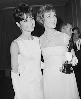 Audrey Hepburn y Julie Andrews oscar