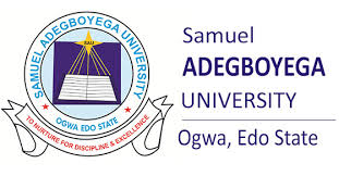 Samuel Adegboyega University Courses and Requirements