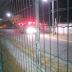 Obra abandonada pegou fogo em Capim Macio