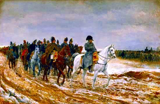 1814, la Campaña de Francia, por Ernest Meissonier