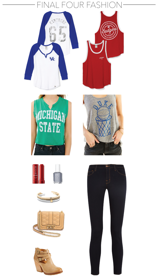 NCAA Final Four Fashion // A Style Caddy