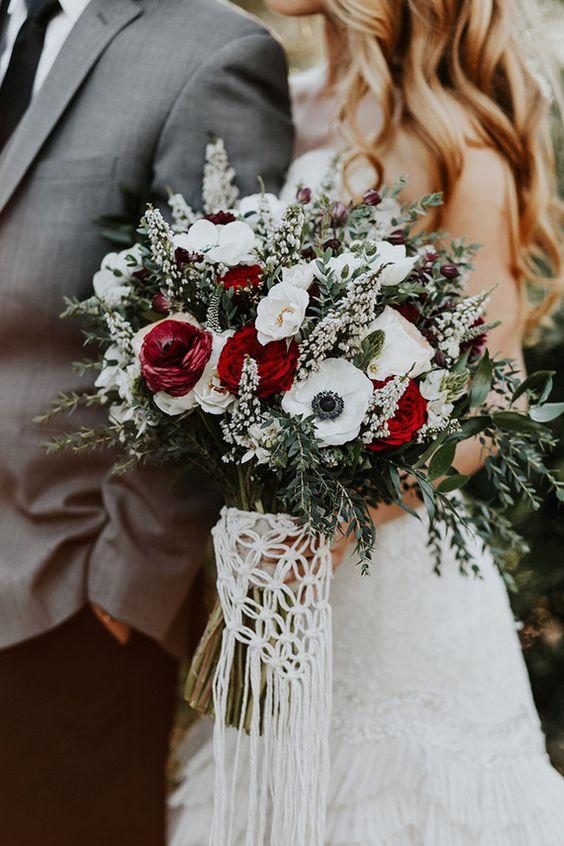 Bukiet ślubny, Organizacja ślubu i wesela zimą, Zimowe Panny Młode, Zimowe inspiracje na ślub, Zimowy Ślub,