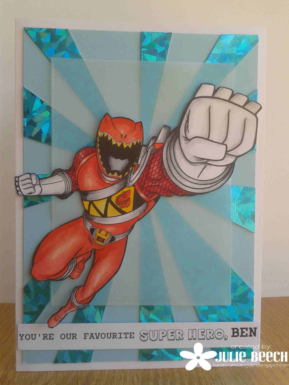 Power Rangers Blogspot : power, rangers, blogspot, Crafted, Jules:, Power, Rangers, Charge