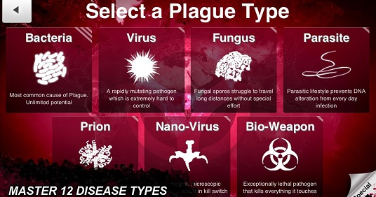 game offline android terbaik Plague Inc