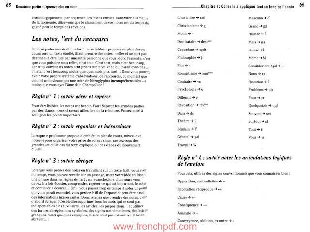 Le bac français pour les nuls pdf