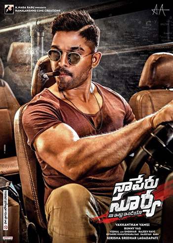 Naa Peru Surya (The Brave Soldier) 2018 Hindi Dubbed Full Movie 400MB, 700MB, HEVC Download