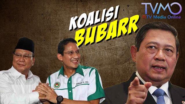 Belum Siap Hadapi Jokowi, Koalisi Gerindra-Demokrat Buyar