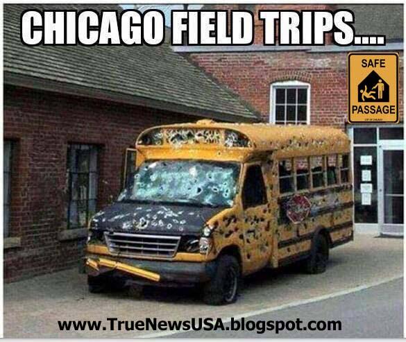 True News Usa >> True News Usa Photo Of The Day Chicago Field Trip Bus