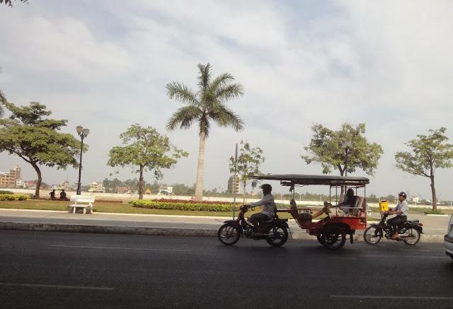 Phnom Penh Straßenszene
