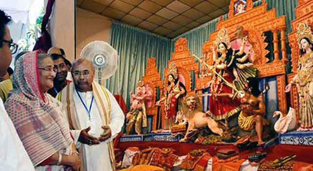 বাংলাদেশ ধর্মীয় সম্প্রীতির অনন্য উদাহরণ : শেখ হাসিনার অসাম্প্রদায়িক
