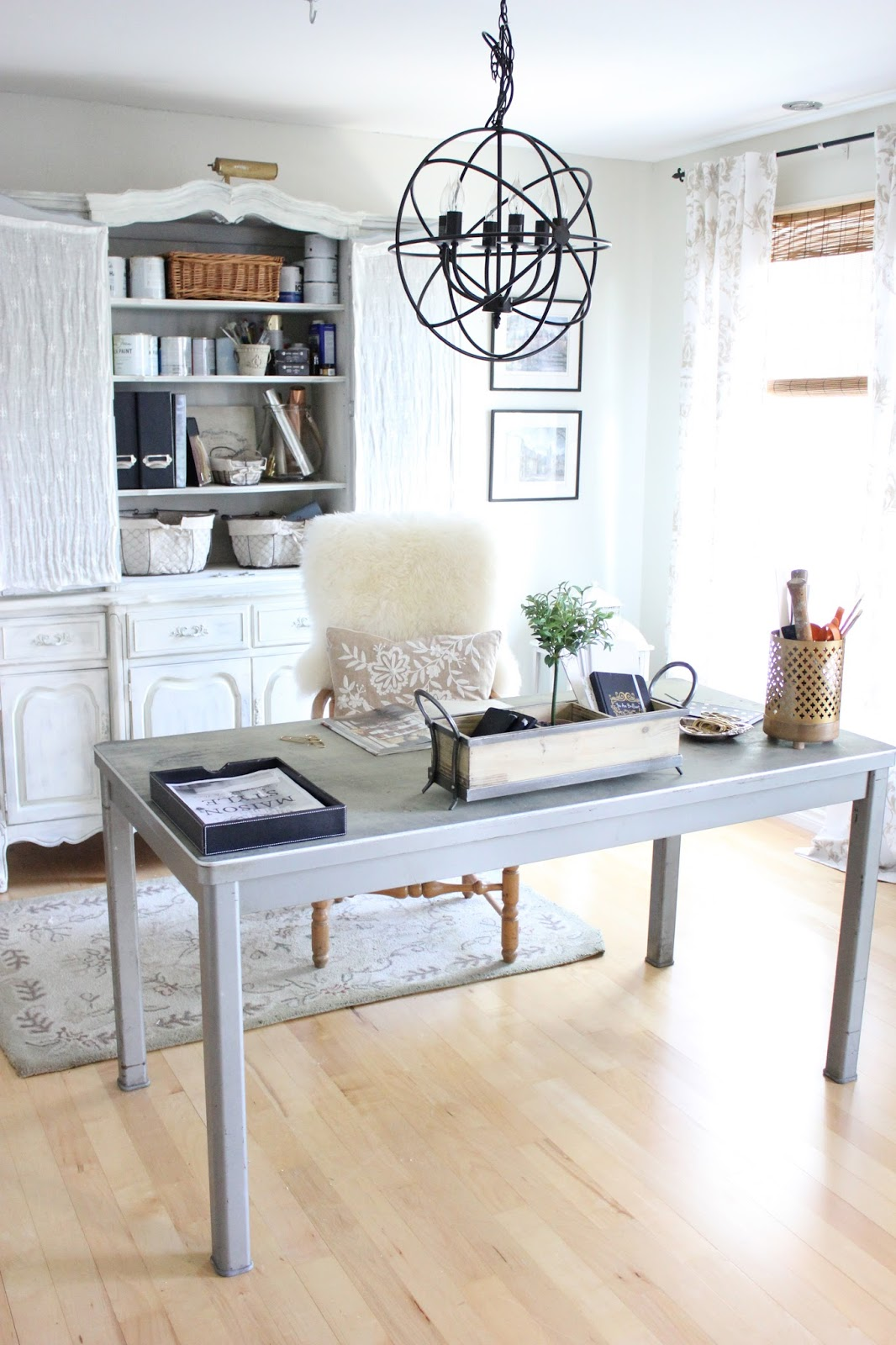Maison Decor: Organize It Gorgeous! My New Home Office Is
