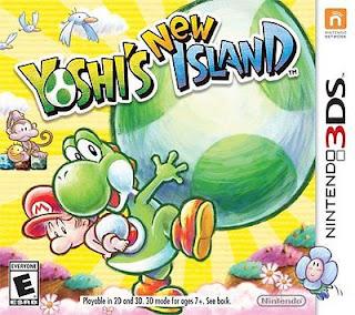 Yoshi's New Island, 3DS, Español, mega, mediafire