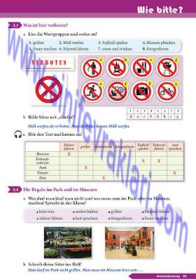 9. Sınıf Almanca A1.1 Ders Kitabı Cevapları Sayfa 83