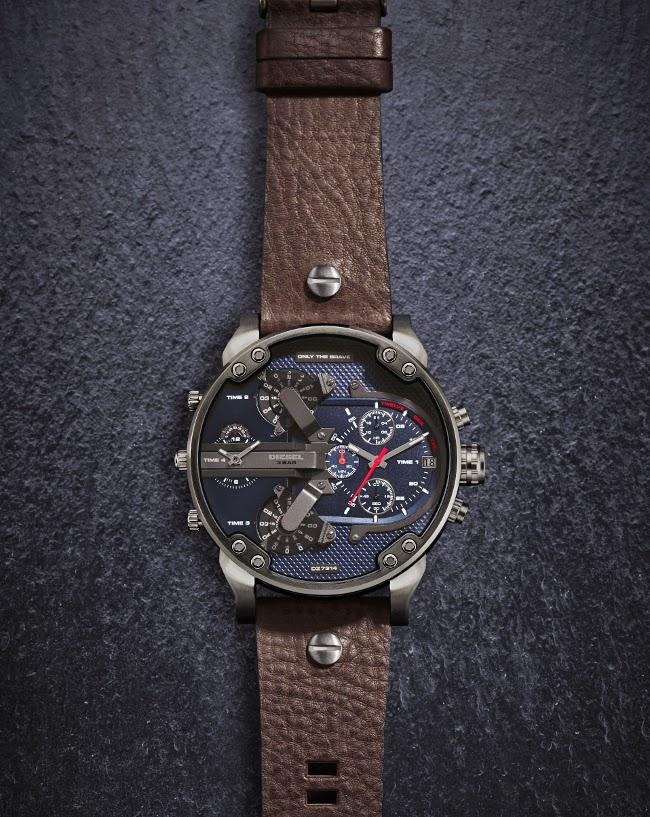 2d5935125e6a Diesel continua ampliando su línea de relojes más venerada y para este  otoño amplia la familia con una nueva colección nombrada Mr. Daddy 2.0.