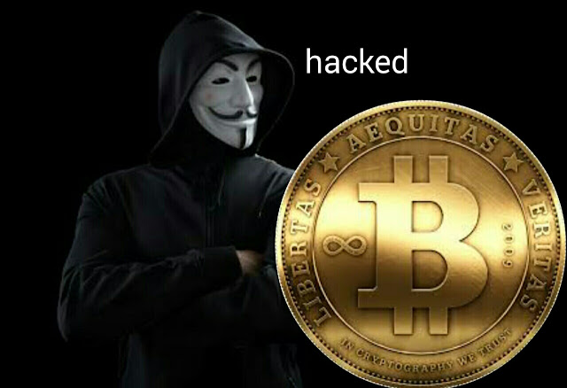 Bitcoins hacked