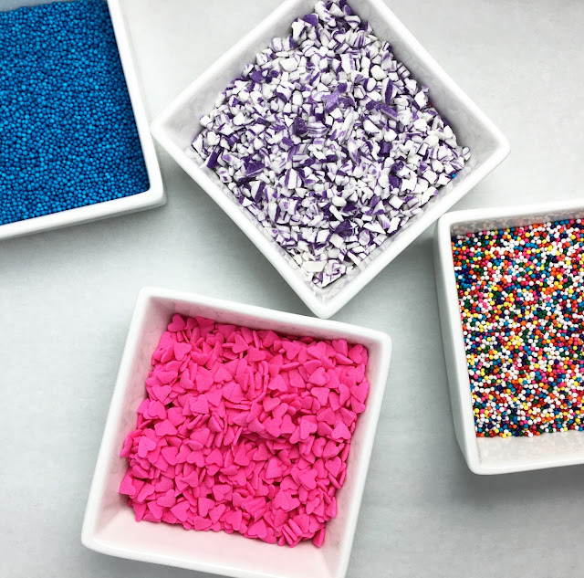 Assorted Sprinkles for Decorating Cake Pops