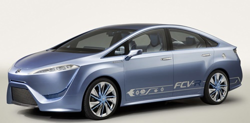 Toyota FCV R Fuel Cell Concept Vehicle Performances