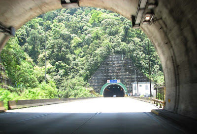 Túnel na Rodovia dos Imigrantes – SP
